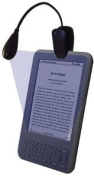 Black Flexible L.E.D Light for Amazon Kindle 1, 2 & 3, Touch and 15cm Wifi Version also WHSmith Kobo Range