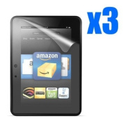 GMYLE(TM) Clear Screen Protector for Kindle Fire HD 7