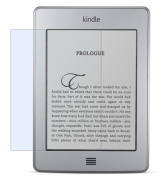3x Crystal Clear Premium Screen Protector for Kindle Touch. Invisible. Pack of 3. CitiGeeks Retail Package.