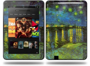 Vincent Van Gogh Rhone Decal Style Skin fits Amazon Kindle Fire HD 23cm