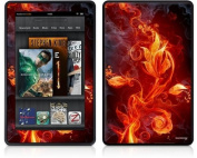 Amazon Kindle Fire (Original) Decal Style Skin - Fire Flower