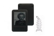 Amazon Kindle 3rd Generation Silicone Skin Case Gel Cover - Black
