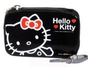 Black Zip-Up Hello Kitty Camera Case - Hello Kitty Digital Camera Case