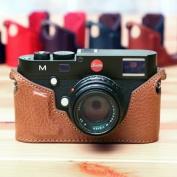Ciesta Genuine Leather Body Jacket Half Case for Leica M Type 240 (Brown) HANDMADE