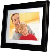 Pandigital 20cm Digital Photo Frame w/2 Interchangeable Frames & 128MB Built-in Memory