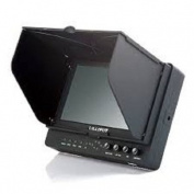 tHIS MONITOR Has HD-SDI FUNCTION / Professional LILLIPUT 2.1m 665GL-70NP / H / Y / S Colour TFT LCD Monitor With HDMI, YPbPr, AV, HD-SDI Input HDMI , HD-SDI Output / With F-970 & QM91D Battery Plate + Sun Shade Cover + Free Hot-shoe Mount/ 4 NEW Functi ..