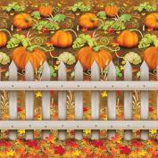 Pumpkin Patch Backdrop Party Accessory
