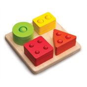 Counting Shape Sorter Activity Toy