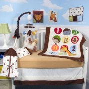 123 Giraffe Baby 14 Piece Crib Nursery Bedding Set