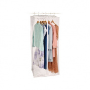 Clear Vinyl Jumbo Maxi Rack Dress Bag