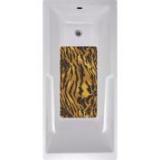 No Slip Mat by Versatraction Tiger Bath Tub and Shower Mat