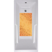 No Slip Mat by Versatraction Autumn Leaves Bath Tub and Shower Mat