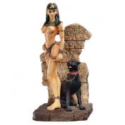 Egyptian Panther Goddess Sculpture