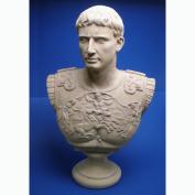 Caesar Augustus of Prima Porta Grand-Scale Sculptural Bust