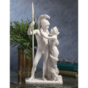 Design Toscano WU73129 Ares and Aphrodite/ Mars and Venus Bonded Marble Statue