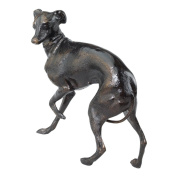 Design Toscano SP1577 the Loyal Whippet Authentic Foundry Iron Casting