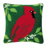 Cardinal Hooked Pillow