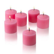 Pink Rose Garden Scented Votive Candles