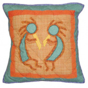 Kokoepelli Toss Pillow