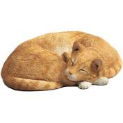 Life Size Orange Cat Statue