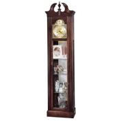 Edmonton Wall Curio Grandfather Clock Cabinet