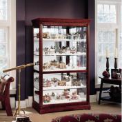 Howard Miller Townsend Village Display Curio Cabinet