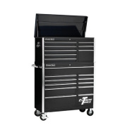 100cm Combo Tool Chest and Roller Cabinet in Black