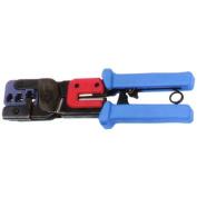 Professional Dual Modular Plug Ratchet Crimping Tool