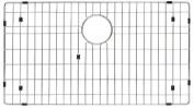KRAUS Sink Basin Racks Bottom Grid in Stainless Steel KBG-100-30