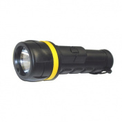2AA Rubberized Flashlight