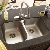 Schon 9m x 0m x 9m x 0m Double Bowl 18 Gauge Kitchen Sink