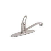 Bayview Single Handle Centerset Kitchen Faucet without Spray