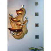 Ceramic Vestaglia Wall Fountain
