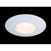 20cm x 20cm Recessed Light with Open Trim in White