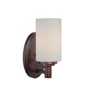 Pittman One Light Bath Lamp in Sienna Bronze