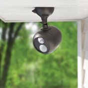 Battery Powered Motion Sensing LED Outdoor Security Spotlight