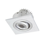 Square 1 Recessed Square Directional Light with Driver