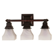 Meyda Tiffany Victorian Bungalow Swirl 3 Light Wall Sconce