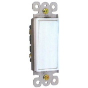 Morris Products 20A 120-277V Single Pole Decorator Switches in White