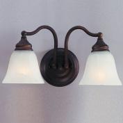 Bristol Vanity Light in Oil Rubbed Bronze