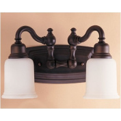 Canterbury Vanity Light in Oil Rubbed Bronze