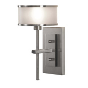 Casual Luxury 1 Light Wall Sconce