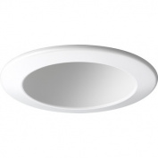10cm Open Trim for Recessed Lighting in White