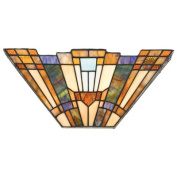 Inglenook 2 Light Tiffany Wall Sconce
