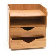 Lipper Bamboo 4 Tier Desk Organiser