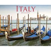 Italy 2014 Wall Calendar