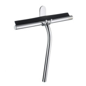 Sideline Shower Squeegee and Hook in Polished Chrome