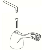 Commercial Cold Wrist Blade Lever Handle