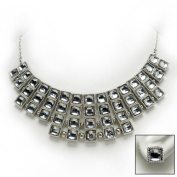 Crystal Palace Necklace and Earrings Ensemble
