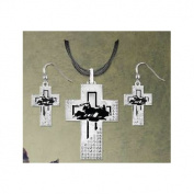 Team Roper Silhouette Jewellery Set